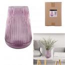 pink camelia vase 29cm
