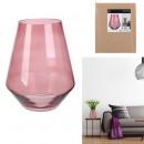 pink kyara vase 21cm