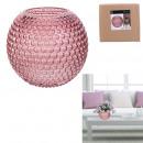 pink dolia vase 18cm