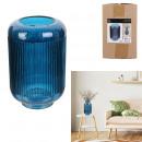 blue streak vase 21.5cm