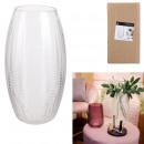 vase Magnolia transparent 30cm