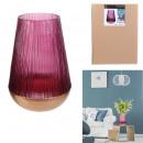 pink dorothy vase 23.5cm