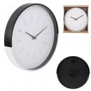 wholesale Clocks & Alarm Clocks: black and white two-tone wall clock