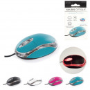 wholesale Computer & Telecommunications: wired optical mouse, 4-times assorted