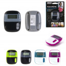 wholesale Sports and Fitness Equipment: Pedometer, 4-fold assorted