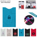 Protected anti-piracy card, 6-time assorted