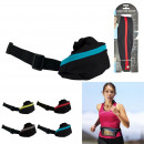 wholesale Sports Clothing: Sports belt, 4-fold assorted