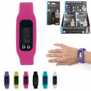 wholesale Sports and Fitness Equipment: Pedometer watch, 6-fold assorted