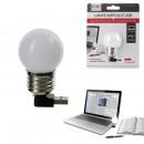 mayorista Informatica y Telecomunicaciones: bulbo de la lámpara USB, de una sola vez surtido