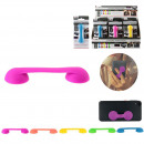 wholesale Telephone: Support telephone suction cup silicone fluo, 5-tim