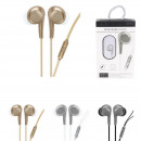 wholesale Consumer Electronics: wired headphones metal kit free hand, 3-fo