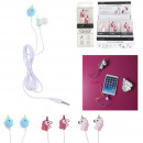 unicorn fancy headphones, 3- times assorted