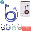 wholesale Cables & Plugs: charging cable and synchro fabric micro usb, 4-fol
