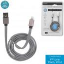 mayorista Informatica y Telecomunicaciones: cable de carga y syncro Iphone tejido