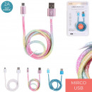charge cable and syncro micro usb glitter, 3-