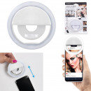 ingrosso Computer e telecomunicazione: smartphone ricaricabile selfie led light