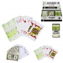 sided card game euro or dollar x54, 2-times asso