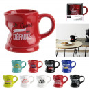 mug deforme message 20cl, 9-fois assorti