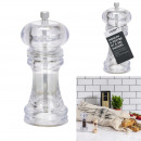 pepper mill 17.5x6cm, 4- times assorted