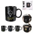 mug thermique noir 30cl, 3-fois assorti