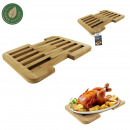 20-30cm bamboo extensible flat top, 1-fo