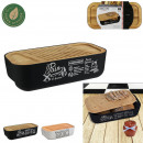 bamboo bread box, 2- times assorted