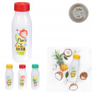 fruity glass bottle 1l, 3- times assorted
