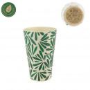 csésze természetes bambusz szál, 1- szer szortíroz