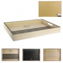 wooden tray make a wish, 3- times assorted