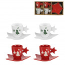 x4 tumbler cup and star cup x4, 1-fold