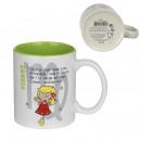 virgin mug 35cl, 1- times assorted