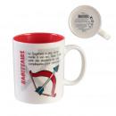 Sagittarius mug 35cl, 1- times assorted