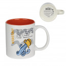 water mug 35cl, 1- times assorted