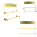 wired gilt credence shelf, 1- times assorted