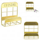 wholesale Bath Furniture & Accessories: sponge holder kitchen golden, 1- times assorted