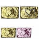 wholesale Table Linen: rectangular sequin table set, 3- times assorted