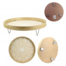 wholesale Small Furniture: plateau with metal foot ethnical life, 1-time asso