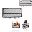 wholesale Food & Beverage:mini black wine rack