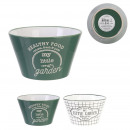 wholesale Crockery: cup 50cl my little market, 2- times assorted
