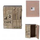 hurtownia Dom & Kuchnia: drewniane pudełko do przechowywania z 2 roletami