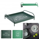 wholesale Small Furniture: tray with feet 35x30x10cm little market, 2-faith