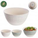 small market bamboo fiber bowl 24cm, 2-