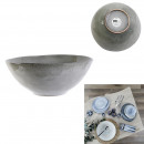 salad bowl 3l d28cm h11cm in gray weather
