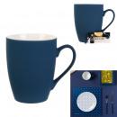 soft touch mug 30cl blue