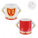 mug heros 40 years 30cl