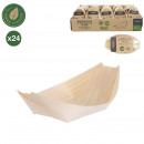 pine snacking tray x24 12cm
