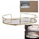 oval mirror tray