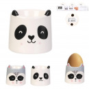 animal egg cup, 2- times assorted