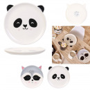 plate animals, 2- times assorted