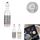 1l mirage valve bottle, 2- times assorted